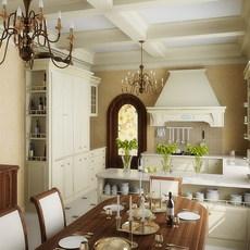 Condo Living Room 238 3D Model