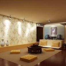Condo Living Room 288 3D Model