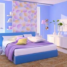 Condo Living Room 297 3D Model