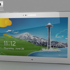 Samsung Ativ Tab 3 3D Model