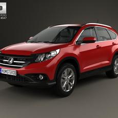 Honda CR-V EU 2012 3D Model