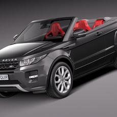 Range Rover Evoque Convertible 2014 3D Model