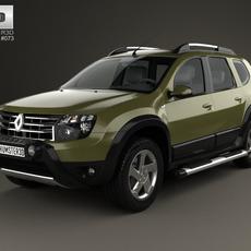 Renault Duster (BR) 2013 3D Model