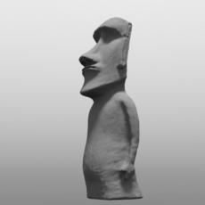Roy Easter Island Statue 3D Model