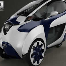 Toyota i-Road 2013 3D Model