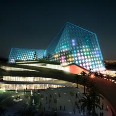 Building Night Cityscape 106 3D Model