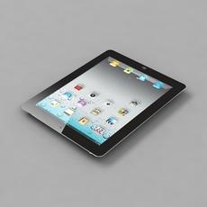 Apple iPad 3 3D Model