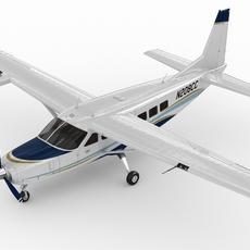 Cessna 208 Caravan 3D Model