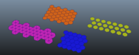 Hexagon Grid Creator for Maya 2.1.0 (maya script)