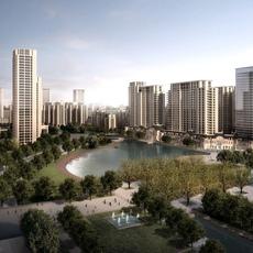 Building Cityscape 115 3D Model