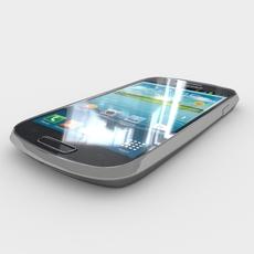 Samsung I8200 Galaxy S III mini VE 3D Model