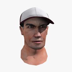 Baseball coach 3D Model