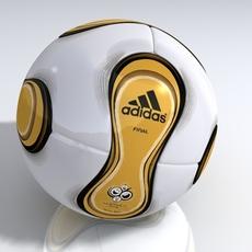 Adidas Teamgeist Berlin 3D Model