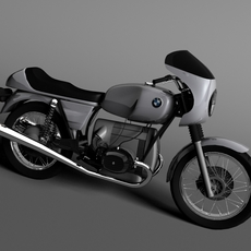 BMW R100 S 1978 3D Model