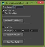 Draw Animation for Maya 2.1.1 (maya script)