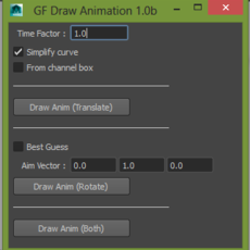 Draw Animation for Maya 2.1.1 (maya script)