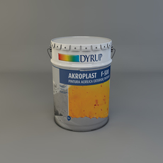 Paint Bucket 3D Model