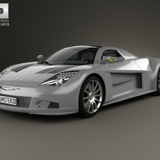 Chrysler ME 4-12 2004 3D Model