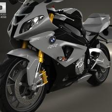 BMW S1000RR 2013 3D Model