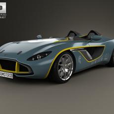 Aston Martin CC100 Speedster 2013 3D Model