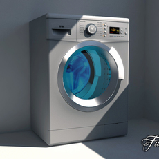 Washing machine 03 3D Model