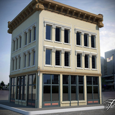 Building 02 3D Model