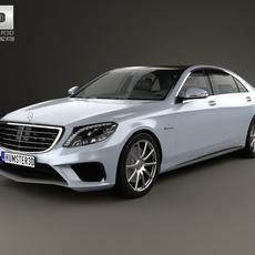 Mercedes-Benz S-Class 63 AMG (W222) 2014 3D Model