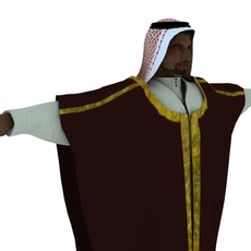 Arab Rig  for Maya with Ncloth simulation for Maya 0.0.1