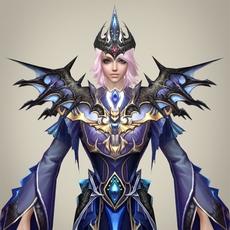 Fantasy Girl Princess Rupi 3D Model
