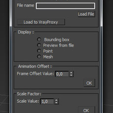 AS VrayProxy Tool for 3dsmax 0.0.3 (3dsmax script)