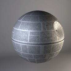 Star Wars Death Star Complete 3D Model