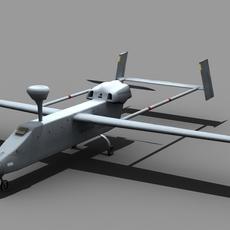 UAV IAI Searcher FOR GAMES 3D Model