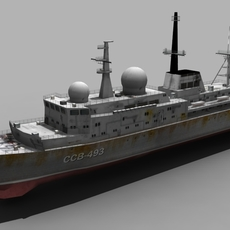 BALZAM SHIP FOR GAMES 3D Model