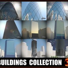 Buildings collection 3 3D Model