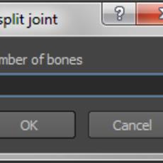 split Joint for Maya 1.0.0 (maya script)