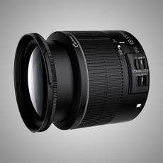 Canon EFS 15-88mm IS II Lens 3D Model