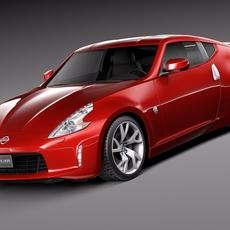 Nissan 370z 2015 3D Model