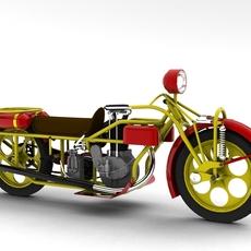 Böhmerland 1927 3D Model