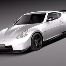 Nissan 370z Nismo 2014 3D Model