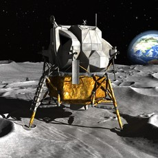 NASA Apollo Lunar Landing Module 3D Model