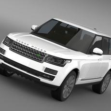 Range Rover Vogue SE SDV8 L405 3D Model