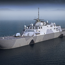 USS Independence LCS-1 3D Model