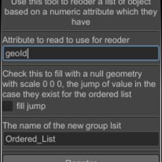 Reorder List of Geo Based on Attribute for Maya 0.1.0 (maya script)