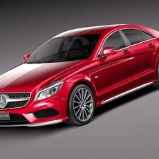 Mercedes-Benz CLS 2015 3D Model