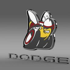 Dodge Bee logo 3D Model