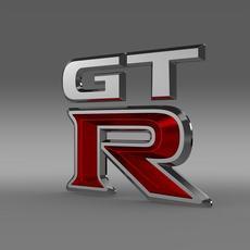 GTR logo 3D Model