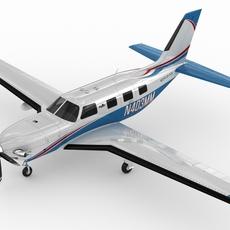 Piper Meridian 3D Model