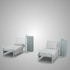 Hospital Set 3D Model