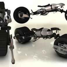 Batman bike batpod 3D Model