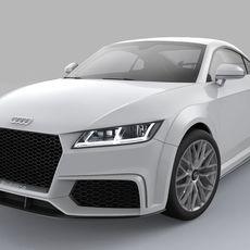 Audi TT Quattro Sport 2015 3D Model